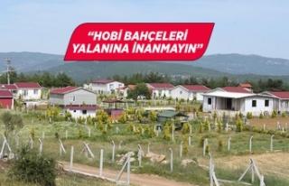 İzmir İl Tarım ve Orman Müdürü vatandaşları...