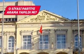 """İzmir Valiliğinden """"izinsiz arama"""" iddiasına..."""