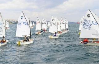 Uluslararası Optimist Yelken Yarışları 2021'de...