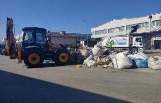 Çiğli Ata Sanayi Sitesi'nde büyük temizlik