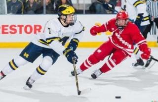 EYOF 2021'de kadınlar buz hokeyi maçları ilk...