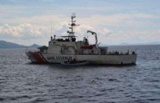 İzmir Dikili'de, 45 sığınmacı kurtarıldı
