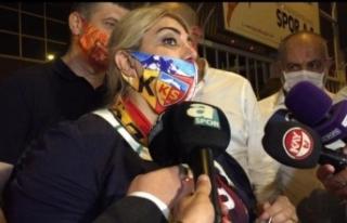 Berna Gözbaşı: 'Pes etmemeyi Türkiye'ye göstereceğiz'