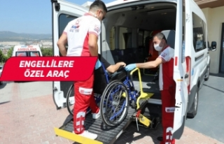 Gaziemir'de hasta nakil araçları yeniden hizmete...