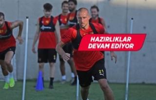 Göztepe, Fenerbahçe maçının hazırlıklarını...
