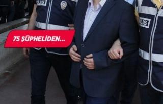 İzmir'deki büyük suç örgütü operasyonunda...