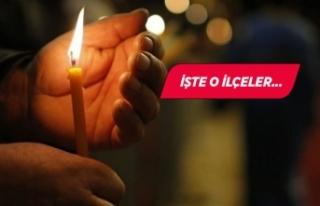 İzmir dikkat! 18 ilçede elektrik kesintisi