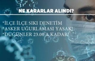 İzmir Hıfzıssıhha Kurulu'ndan karar!