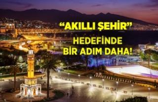 """İzmir'den """"akıllı şehir"""" olma hedefine bir..."""