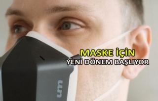 Maske için yeni dönem başlıyor