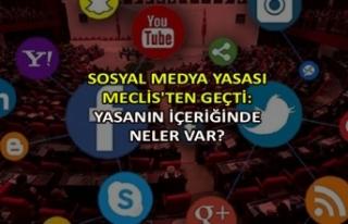 Sosyal medya yasası Meclis'ten geçti: Yasanın...