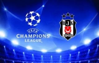 Beşiktaş'ın Şampiyonlar Ligi'ndeki rakibi...