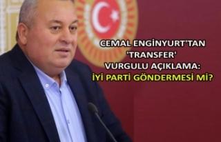 Cemal Enginyurt'tan 'transfer' vurgulu...