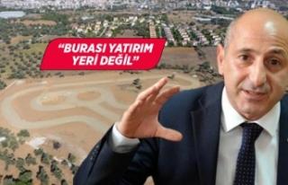 CHP'li Ali Öztunç'tan İzmir'de yapımı...