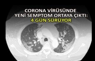 Corona virüsünde yeni semptom ortaya çıktı: 4...