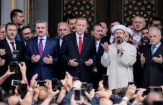 Erdoğan'dan flaş Ali Erbaş açıklaması!