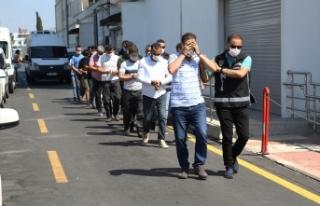 FETÖ operasyonunda 9 zanlıdan 2'si tutuklandı