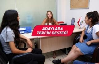Gaziemir Belediyesi'nden üniversite adaylarına...