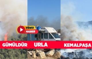 İzmir cayır cayır yanıyor!