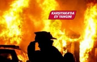 İzmir'de evde çıkan yangın söndürüldü