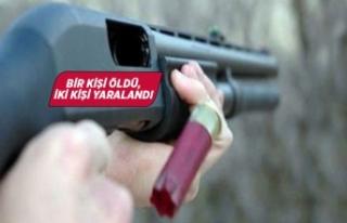İzmir'de pompalı tüfekli saldırı!