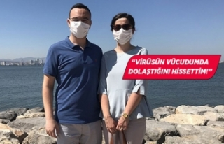 İzmirli çiftin korona mücadelesi!