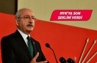 Kılıçdaroğlu, Parti Meclisi'nde 'birlik'...