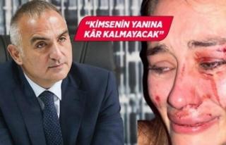 Kültür ve Turizm Bakanı Ersoy'dan Çeşme'deki...