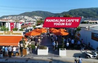Narlıdere'de Mandalin Cafe'ye yoğun ilgi