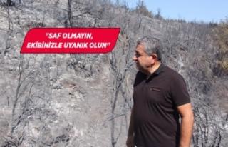 Pakdemirli'ye orman yangınları çağrısı