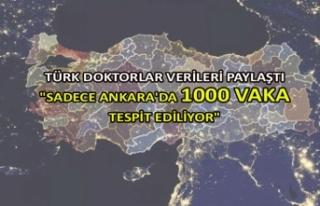 """Sadece Ankara'da 1000 vaka tespit ediliyor"""