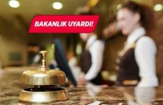 Ticaret Bakanlığından otel rezervasyonu uyarısı
