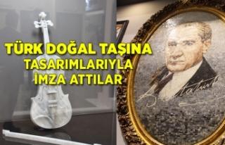 Türk doğal taşına değer katma yarışına 398...
