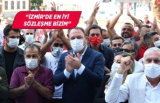 Çiğli'de İzmir'in en yüksek oranlı toplu...