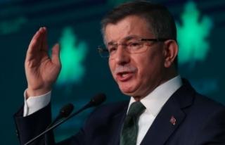 Davutoğlu: Amaçları siyasete göz dağı vermek