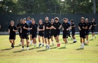 Denizlispor, Antalyaspor maçının hazırlıklarını...