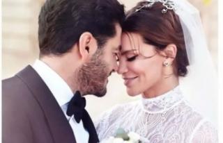 Ebru Şallı'dan birinci evlilik yıl dönümü...