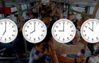İstanbul'da mesai saatleri nasıl değişecek?...