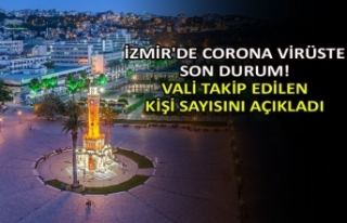 İzmir'de corona virüste son durum! Vali takip...