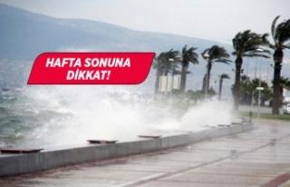 Marmara ve Ege'de kuvvetli lodos bekleniyor