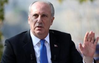 Muharrem İnce: CHP'nin adayına göre karar...