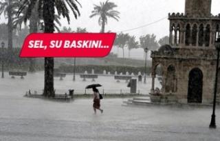 Ege için kuvvetli yağış uyarısı!