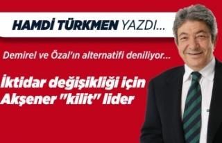 Hamdi Türkmen yazdı: Demirel ve Özal'ın alternatifi...