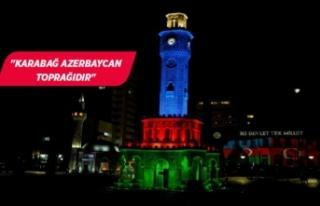 İzmir, Azerbaycan için tek yürek