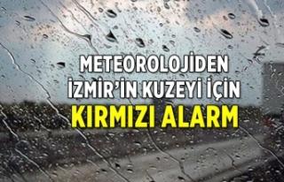 Meteorolojiden İzmir'in kuzeyine uyarı