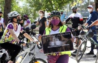 """Muğla'da bisikletçilerden """"bisikletime..."""