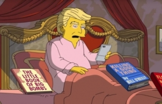 The Simpsons dizisinde Trump'a şok!