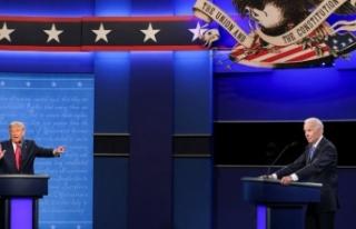 Trump ve Biden son kez kozlarını paylaştımaz