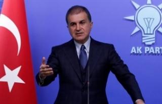 AK Parti Sözcüsü Çelik'ten CHP'li Çeviköz'e...