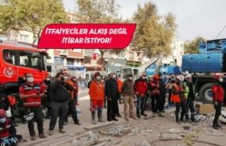 CHP'li Beko: İtfaiyeciler sadece afet döneminde...